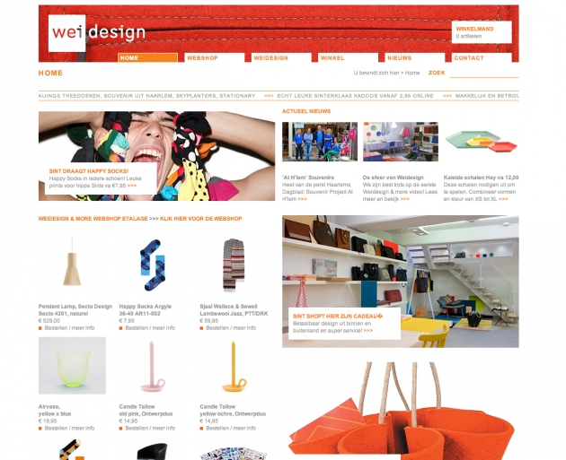 Weidesign, website